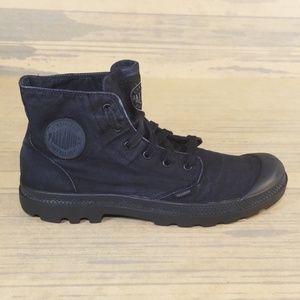 Palladium Monochrome Lace Up Sneaker